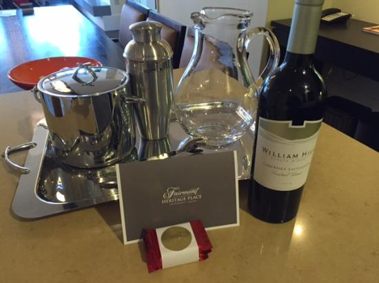 Fairmont Heritage Place, Ghirardelli Square: A warm welcome!