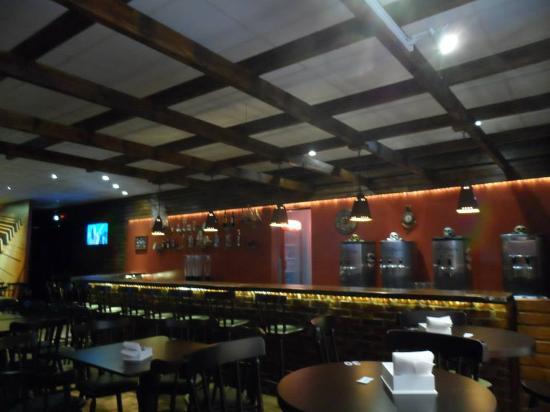 Santa Rosa, RS: O Bar com uma iluminação especial