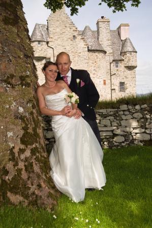 Barcaldine Castle: Our beautiful wedding day in a fairytale setting