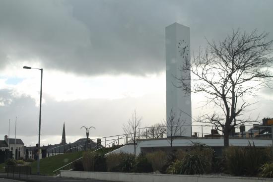 Carrickfergus, UK: Clock tower