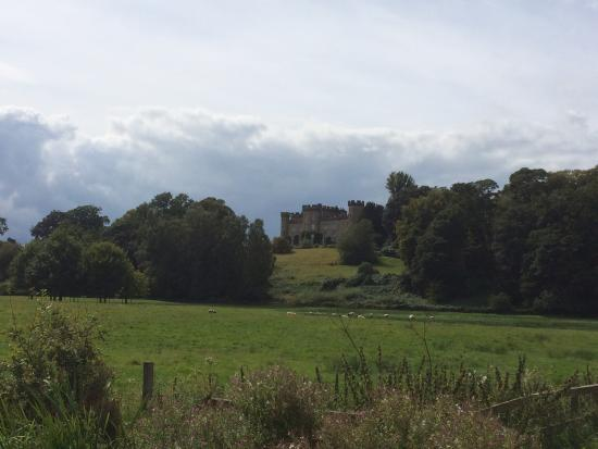 Cheshire, UK: Castle in the clouds