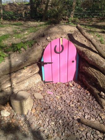 The Fairy Trail in hotel grounds.