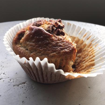 The Bean Cafe: Banana Nut Muffin
