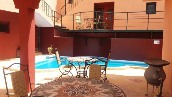 Riad Pégase : Nouvelle piscine
