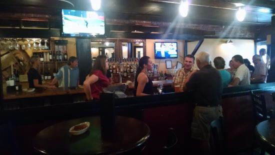 Shelburne, VT: The bar area
