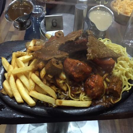 Bolton, UK: Mixed grill