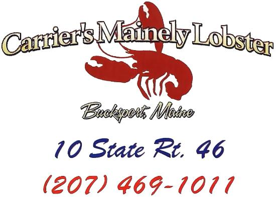 Carrier's Mainely Lobster: Logo
