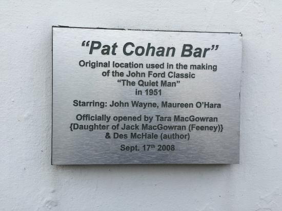 Cong, Irlanda: Movie Sign for Quiet Man