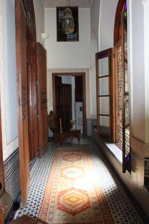 Riad Norma: couloir à l'étage