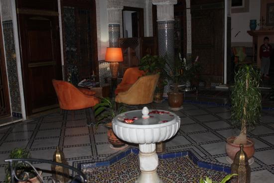 Riad Norma: le patio du riad