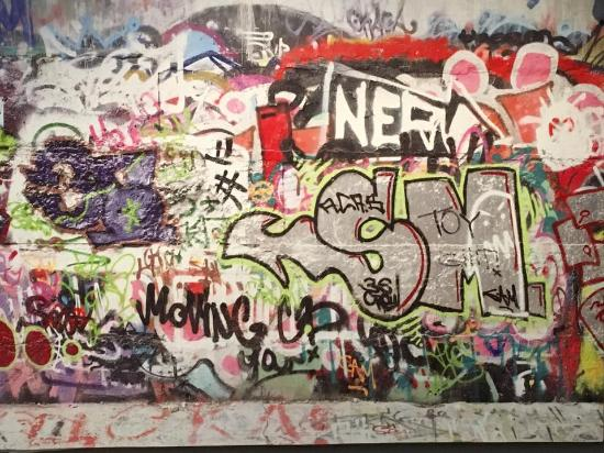 The Rise of Sneaker Culture - Graffiti Wall - Picture of