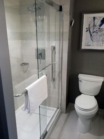 Calgary Marriott Downtown Hotel Bathroom In My Guest Room Shower Is Pretty Roomy
