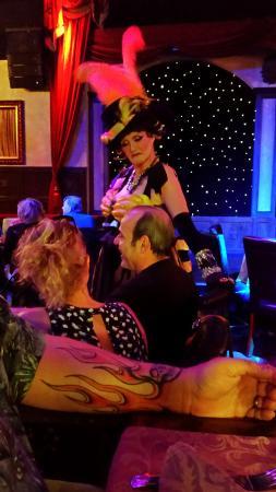 Treasure Tavern Dinner Theatre: Our host, the Madam.
