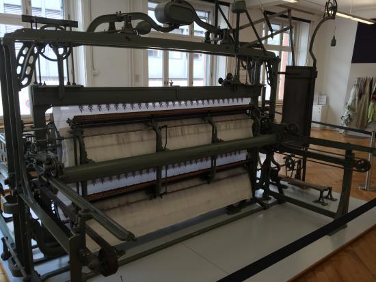 Textilmuseum: Métier à tisser