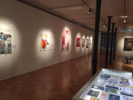 Textilmuseum: Salle d'expo