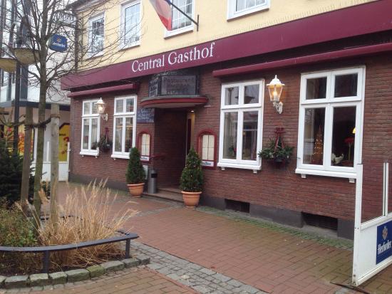 Bad Segeberg, Alemania: Hotel Central Gasthof