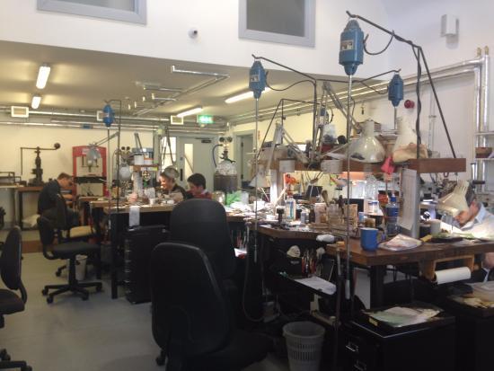 The Steensons Jewellery Workshop Glenarm