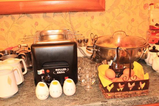 Hotel Bristol: Buffet petit-déjeuner