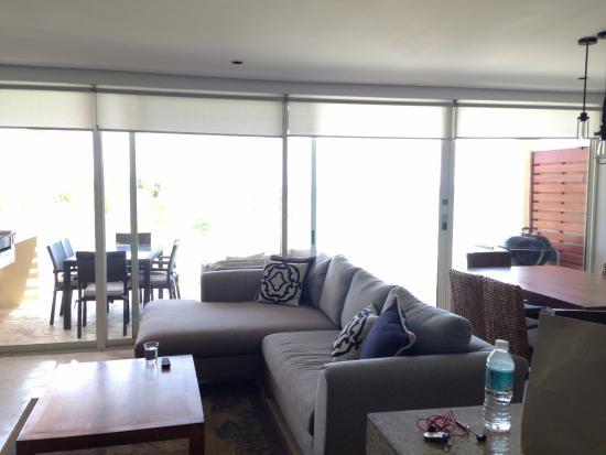 The Elements: PH 23 living room/ balcony