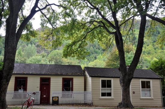 Miner's cottages at Arrowtown