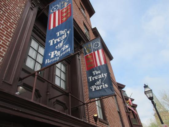 Treaty Of Paris Restaurant Annapolis Md