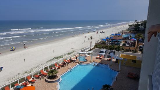 hilton garden inn daytona beach oceanfront from our balcony - Hilton Garden Inn Daytona Beach Oceanfront
