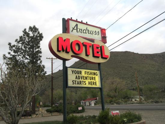 Andruss Motel, Walker, Ca