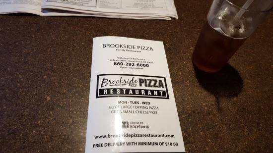 Broad Brook, CT: Menu