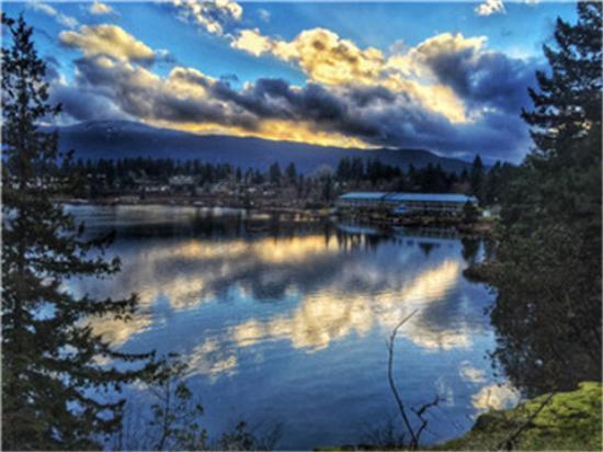 Long Lake Waterfront B&B View