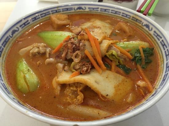 Rowville, Australia: Curry Laksa