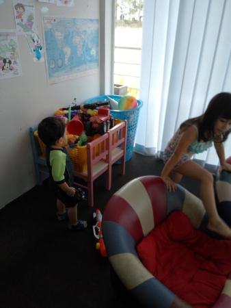 Century Langkasuka Resort: Kids' Activity Room near the pool