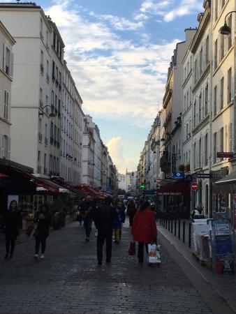 Paris, France: Saturday night visit to Rue Cler