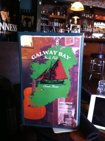 Ocean Shores, Waszyngton: Bar & menu