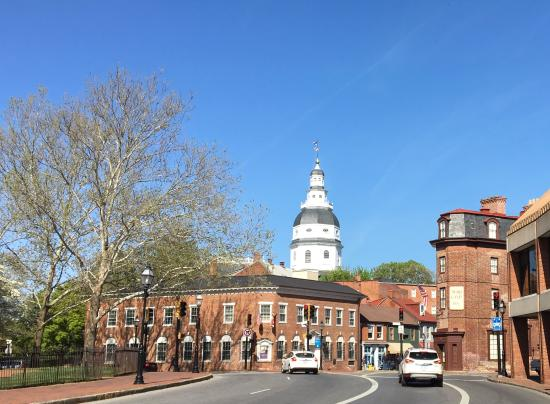Discover Annapolis Tours: State Capital dome
