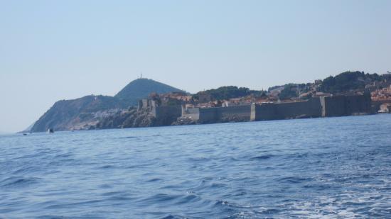 Adriana Cavtat Boat Tours: こんな景色です