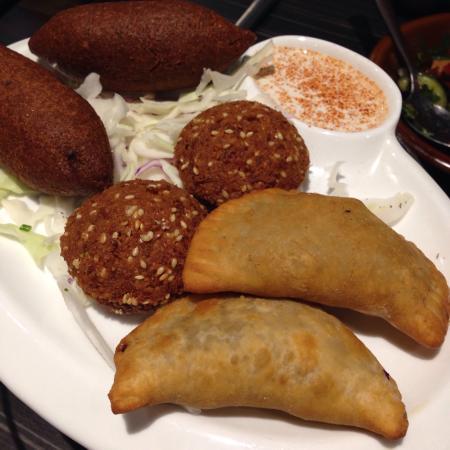 Willoughby, Australia: Tarboosh banquet menu