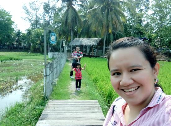 Laman Padi Langkawi: Off to lunch!