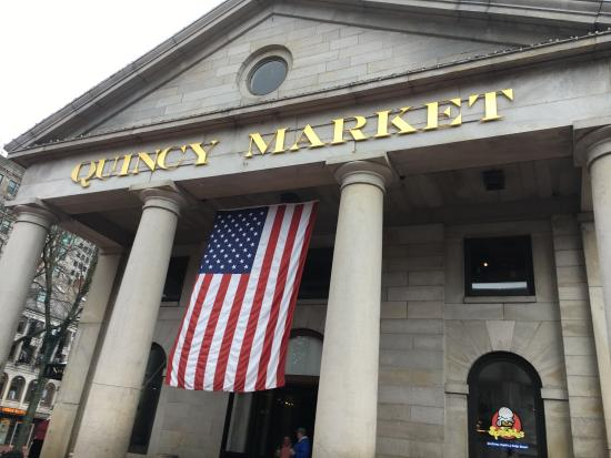 QUINCY MARKET BOSTON - Picture of Faneuil Hall Marketplace ...