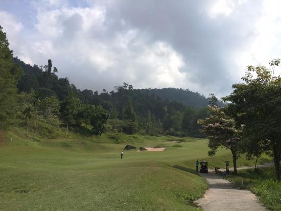 Berjaya Hills Golf & Country Club: Good weather