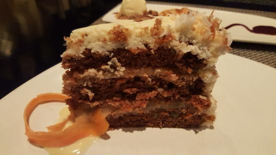 Bristol Seafood Restaurant: Carrot cake to die for!