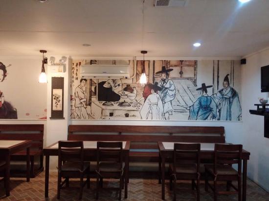 SOBAN_wall art - Picture of Soban, Korean Restaurant, Dumaguete City ...