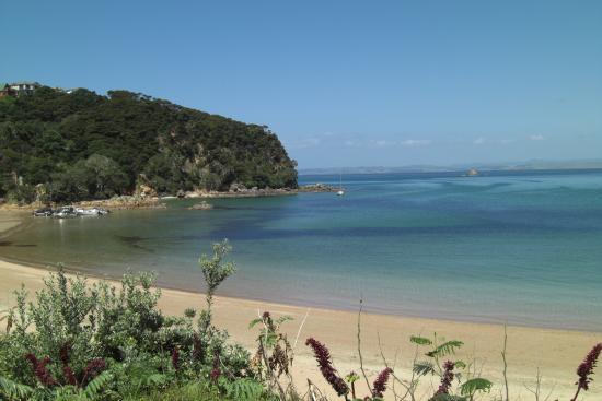 Kaitaia, Nueva Zelanda: Perehipe beach/opposite camp