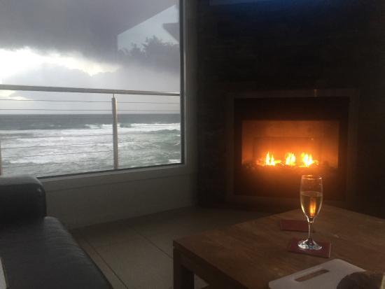 Kilcunda, Australia: Fireplace on sunset