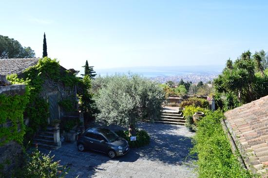 San Gregorio di Catania, Italia: thats us the only guests