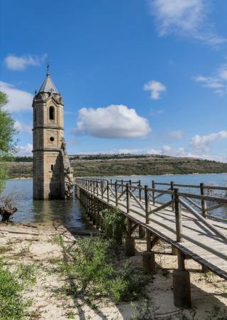 Iglesia Sumergida de Villanueva de las Rozas
