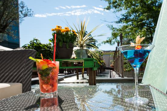 Le Grand Saconnex, สวิตเซอร์แลนด์: Terrace Cbar & lounge
