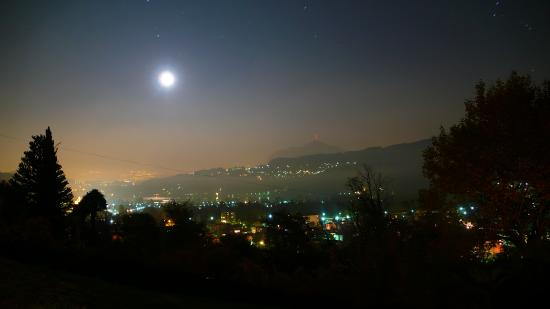 Hotel Paladina : Aussicht Terrasse moonlight