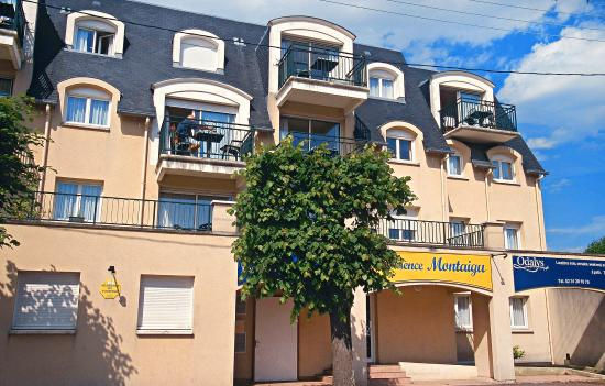 Residence montaigu hotel cabourg france voir les for Hotels cabourg