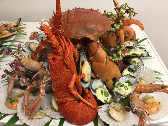 Clearwater Island Lodge: Seafood Sensation