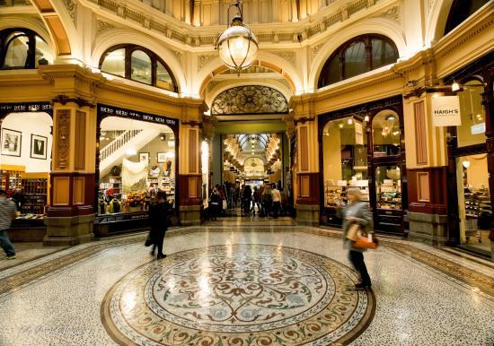 ممر التسوق التراثي بلوك أركاد